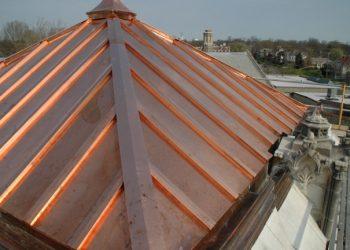 Bakır - Galvaniz Kenet Çatı